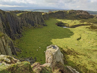 """Hatlwhistle Burn and Cawfields: An """"Understanding the Geology"""" event for the Hadrian's Wall Community Archaeology Project"""