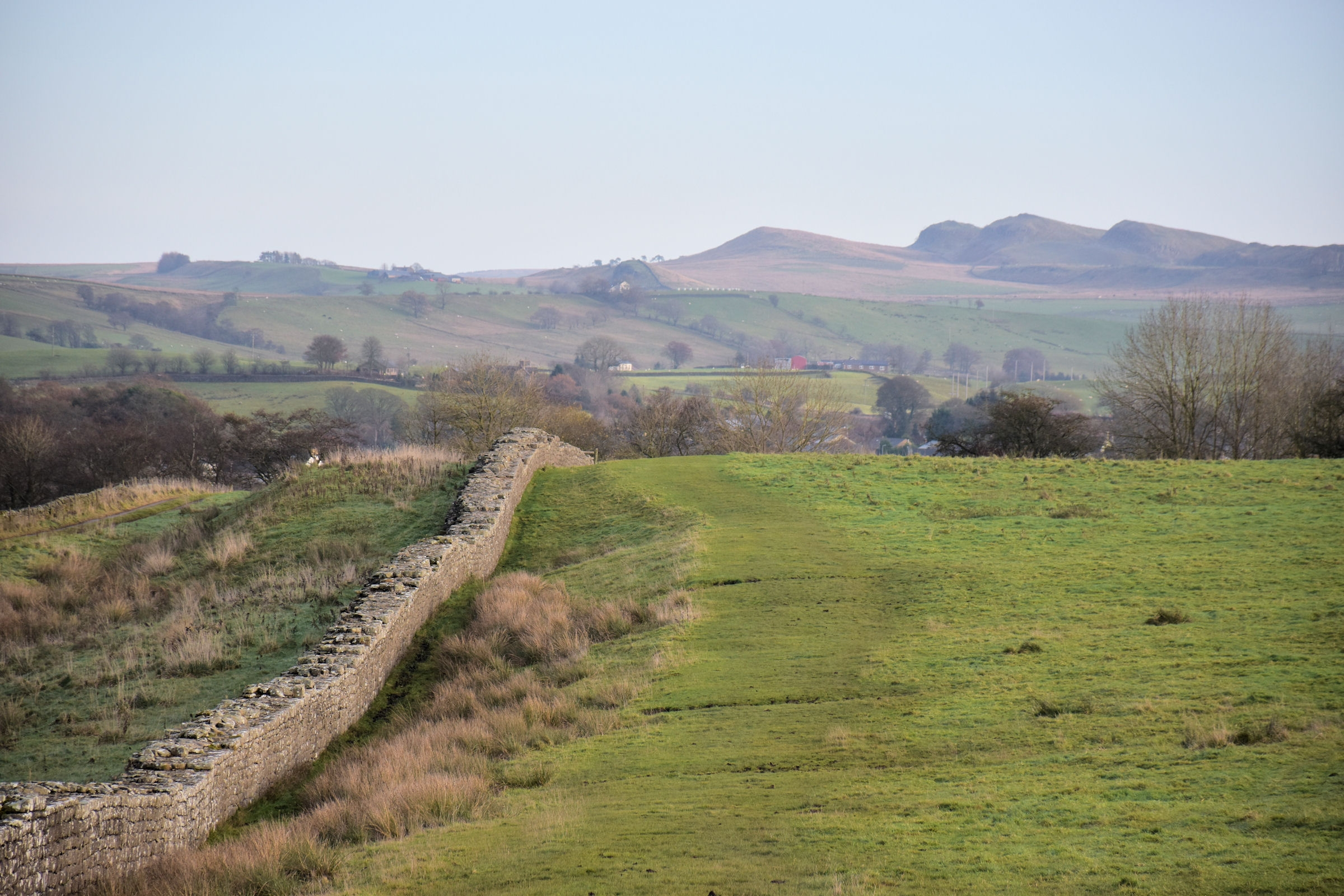 Where has Hadrian's Wall Gone?